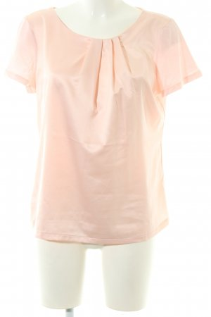 Jake*s Kurzarm-Bluse pink Business-Look