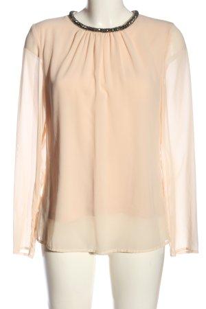 Jake*s Langarm-Bluse creme Elegant