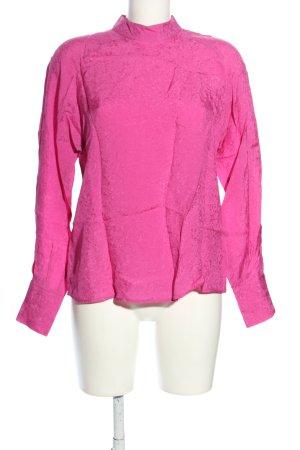 Jake*s Langarm-Bluse pink Business-Look
