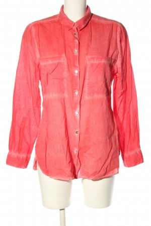 Jake*s Langarm-Bluse rot Casual-Look