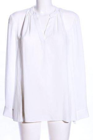 Jake*s Bluzka z długim rękawem biały Elegancki