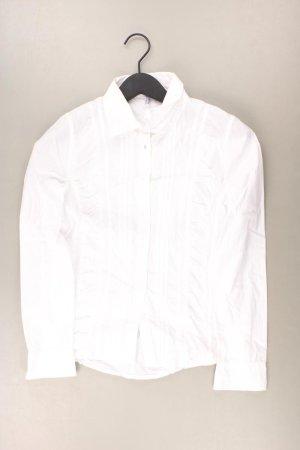 Jake*s Langarmbluse Größe 38 weiß aus Baumwolle