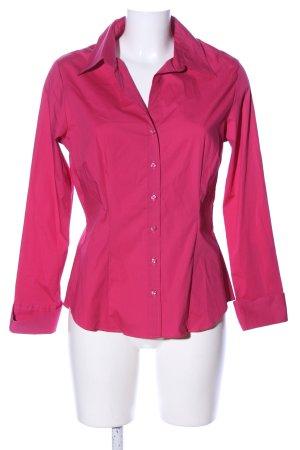 Jake*s Langarmhemd pink Business-Look
