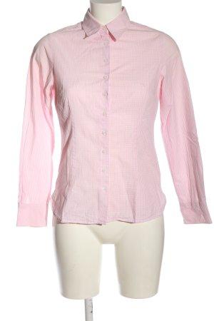 Jake*s Langarmhemd pink-hellgrau Allover-Druck Casual-Look