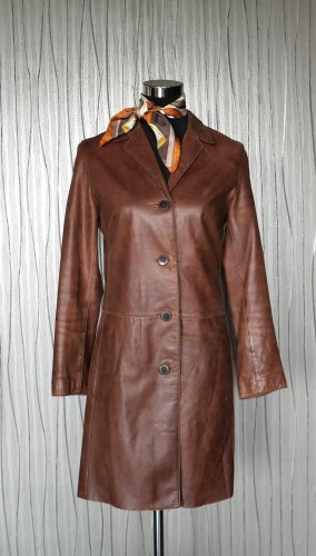Jake*s Leather Coat multicolored leather