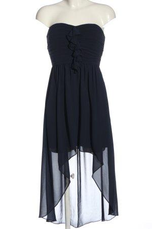 Jake*s Asymetryczna sukienka niebieski Ekstrawagancki styl
