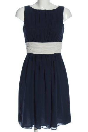 Jake*s Minikleid blau-weiß Elegant