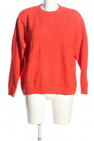 Jake*s Oversized Pullover hellorange Casual-Look