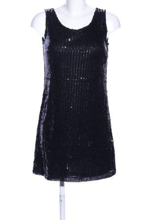 Jake*s Robe à paillettes noir style mouillé
