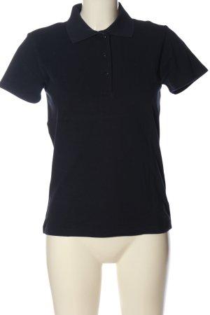 Jake*s Polo-Shirt blau Casual-Look