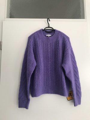 Jake*s Pull à gosses mailles violet-violet