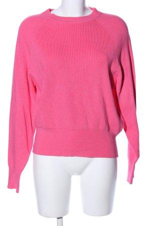 Jake*s Rundhalspullover pink Casual-Look