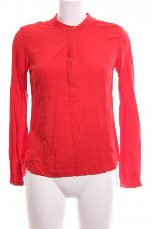 Jake*s Schlupf-Bluse rot Business-Look