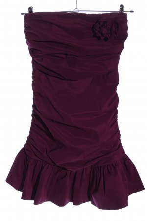 Jake*s schulterfreies Kleid lila Elegant