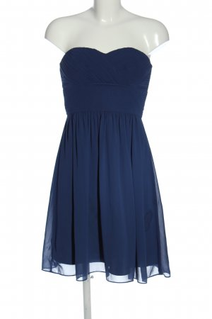 Jake*s schulterfreies Kleid blau Elegant