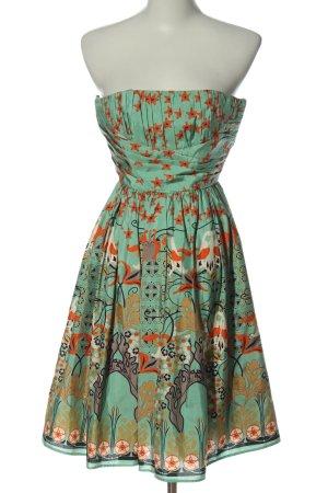 Jake*s schulterfreies Kleid abstraktes Muster Elegant