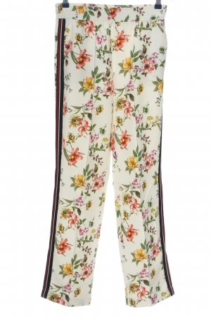 Jake*s Jersey Pants allover print casual look