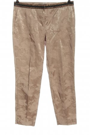 Jake*s Stoffhose creme Allover-Druck Casual-Look