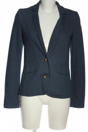 Jake*s Knitted Blazer blue flecked business style