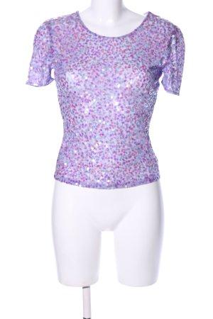 Jake*s T-Shirt lila Casual-Look