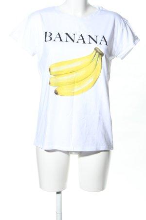 Jake*s T-Shirt Motivdruck Casual-Look