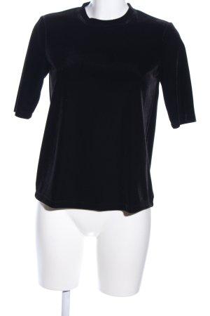 Jake*s T-Shirt schwarz Casual-Look