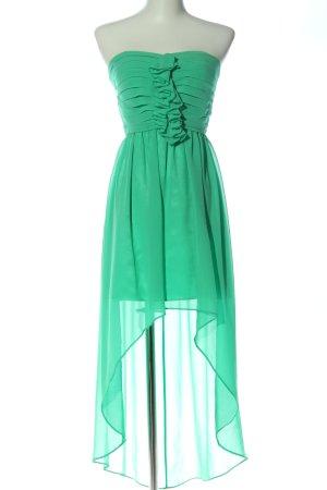 Jake*s Asymetryczna sukienka zielony Elegancki