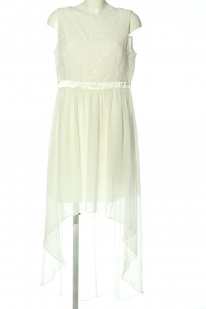 Jake*s High Low Dress cream elegant