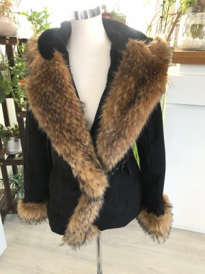 Reversible Jacket brown-black