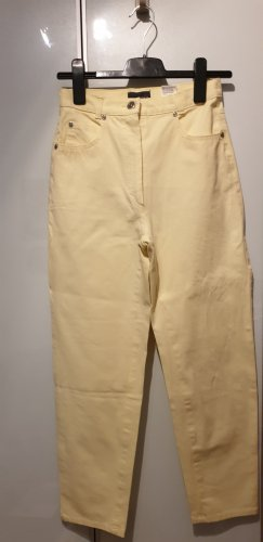 Jake*s Pantalón de cinco bolsillos amarillo claro Algodón