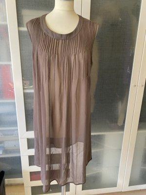 Jakes Tunika Kleid transparent Gr. M nude