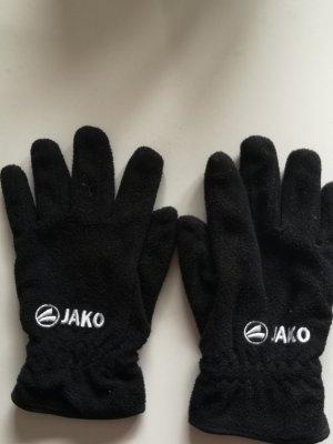 Jako Rękawiczki polarowe czarny Poliester