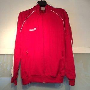 Jako Trainingsjacke Größe S 34 36 rot weiß