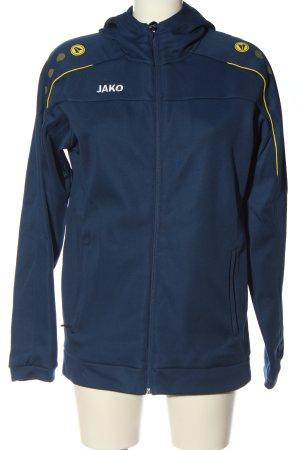 Jako Between-Seasons Jacket blue-primrose casual look
