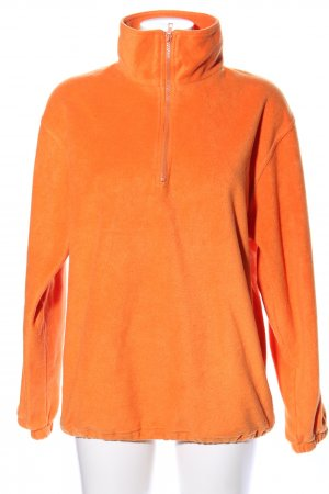 James & Nicholson Fleecepullover hellorange Casual-Look