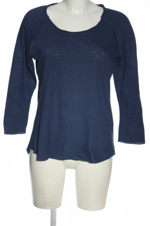 James Perse Fine Knit Jumper blue casual look