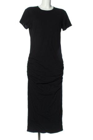 James Perse Sukienka o kroju koszulki czarny W stylu casual