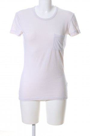 James Perse T-Shirt weiß Casual-Look