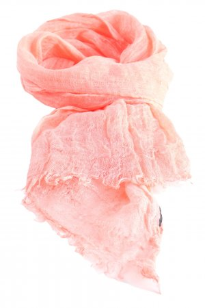 Jammers & Leufgen Fringed Scarf pink casual look