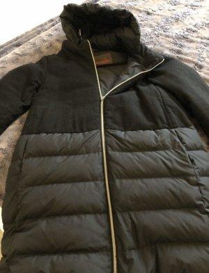 Jan Mayen Abrigo de plumón negro