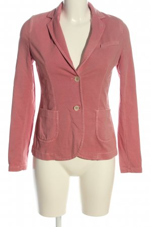 Jan Mayen Knitted Blazer pink casual look