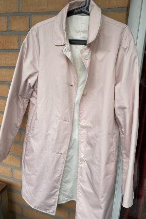 Jan Mayen Krótki płaszcz w kolorze białej wełny-różany