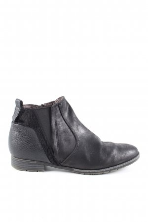 Jana Ankle Boots schwarz Casual-Look