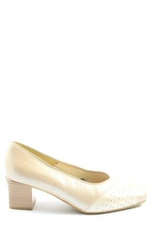 Jana High Heels creme Elegant