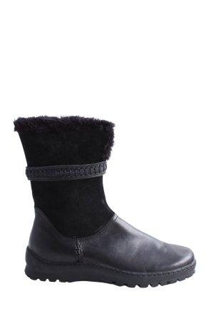 Jana Krótkie buty czarny W stylu casual