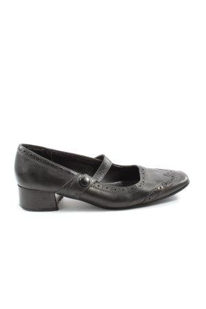 Jana Mary Jane Schoenen zwart elegant