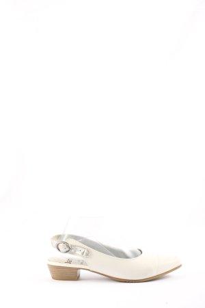 Jana Slingback-Pumps creme Business-Look