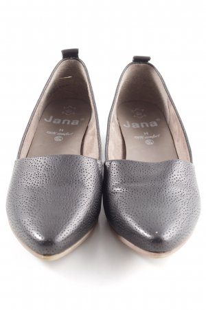 Jana Spitz-Pumps braun Casual-Look