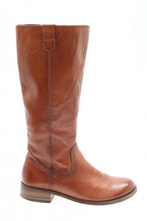 Jana Winter Boots brown casual look