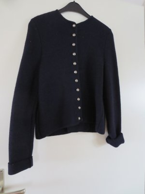 Astrifa Wełniany sweter ciemnoniebieski Wełna